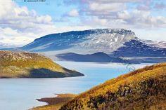 Kilpisjärvi - saana lappi kilpisjärvi tunturi rinne enontekiö kesäkuu pilvi tunturi maisema