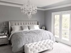 how to decorate a gray bedroom - How to Decorate A Gray Bedroom - Interior House Paint Ideas, grey bedroom decor awesome bedroom light pink room accessories Glamourous Bedroom, Grey Room, Bedroom Interior, Bedroom Makeover, Couple Bedroom, Grey Bedroom Decor, Master Bedrooms Decor, Bedroom Decor, Small Bedroom