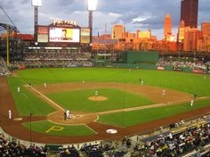 PNC Park - Arenas & Stadiums - Take your spot to watch your favorite baseball team in this amazing place that has the nicest view of the city the PNC Park