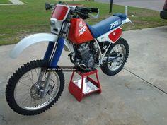 1987 Honda Xr250r (280 Big Bore) XR photo