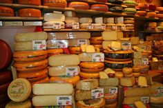 A Cheese Store in the Netherlands.