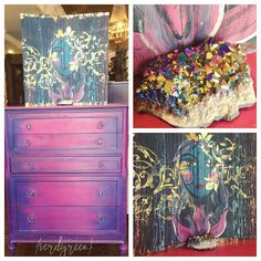 Mix It Monday: Electric Supernova Hues | Chalk Paint® by Annie Sloan | Verdigreen #chalkpaint color mixing tutorial