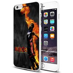 Basketball NBA Dwyane Wade Black Miami Heat,Cool iPhone 6 Plus (6+ , 5.5 Inch) Smartphone Case Cover Collector iphone TPU Rubber Case White Phoneaholic http://www.amazon.com/dp/B00XNSN6I4/ref=cm_sw_r_pi_dp_qvtwvb1DGK5EG