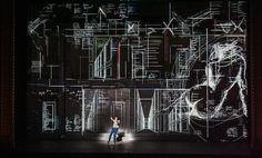 Don Giovanni - Royal Opera House, London Projection Designer: Luke Halls Director: Kasper Holten Set Design: Es Devlin Lighting design: Bruno Poet