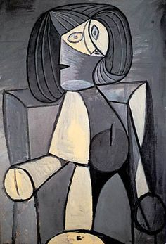 Picasso - Woman in Gray - 1942