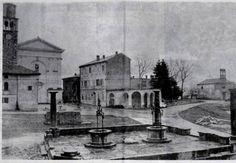 Visinada. 1772. godine izgrađena mjesna CISTERNA s dva bunara, prema projektu čuvenog rovinjskog arhitekte Simonea Battistelle
