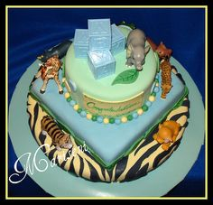 Cake Room Art : 1000+ images about Jungle Animals Baby Rooms on Pinterest ...