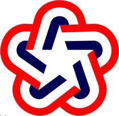American Bicentennial logo byBruce N. Blackburn, 1976