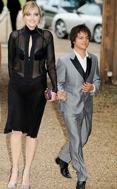 Tallest women & spouse   High and lows: Sophie Dahl and Jamie Cullum, pictured at the Gorbachev ...