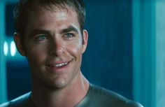 Chris Pine as Kirk Star Trek: Into Darkness