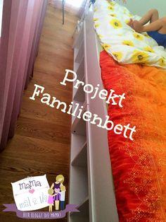 Ein Familienbett - jetzt haben wir's - inkl. Bauanleitung! #ikeahack #familienbett #cosleeping #diy #schlafzimmer Ikea Hack, Life Hacks, Blog, Diy, Neutral, Pictures, Ikea Hack Nursery, Best Mattress, Bricolage