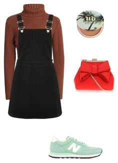 """#lookgirl1145"" by polly2003-2003 ❤ liked on Polyvore featuring Oasis, New Balance, Urban Decay and Miss KG"
