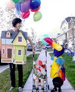 Up! DIY Family Costume - Love it!