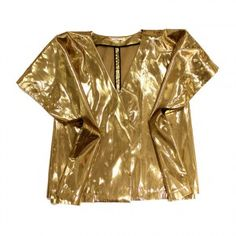 TOME gold dress