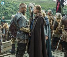 Ragnar & Erlendur, son of King Horik | Vikings Season 3