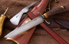With Swamp Fox Frontier Steel knives, what is old is new again and proving its worth on today's battlefields!