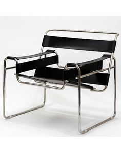 Breuer Wassily Chair - Marcel Bruer. Knoll. Inspired by the bicycle