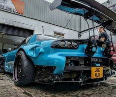 #Mazda #RX7 #FD #WideBodyFlares #Fitment #Modified #Custom