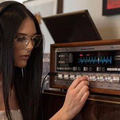 VINTAGE MARANTZ AND WOMEN