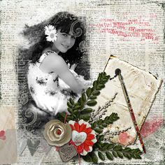 A picture of my daughter.  Kit by Dana's Digital Footprints.  Mask: PrelestnayaP's Keep Your Memories Vol. 18 available at https://www.pickleberrypop.com/shop/product.php?productid=39183&page=1