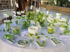 Incanti - wedding and event creations: Sposiamoci in Verde!!!!!