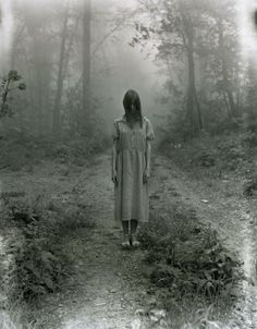 "Another pinner said: ""And the woods gave her up, after 4 1/2 years.""     This picture makes me want to start writing again."