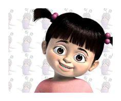 Very Nice Disney Mouse Pad Monsters Inc Boo