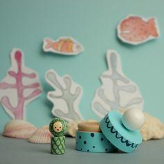 Co se narodilo Mořské panně / Zboží prodejce Lenka Pöselová Smell Good, Vivid Colors, Toys, Handmade, Activity Toys, Hand Made, Clearance Toys, Gaming, Games