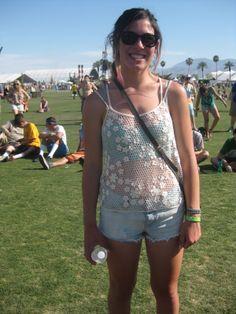 Sheer Smiles <3 Coachella 2013
