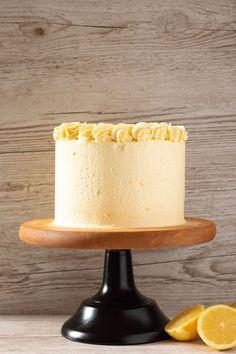 Lemon Curd Layer Cake Recipe - Minela Bakes