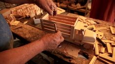 Camioncito - Juguetes de madera mexicanos San Antonio la Isla