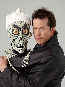 jeff dunham & achmed the dead terrorist.    I suppose he's dreadfully unpolitically correct.  But he makes me LAUGH!