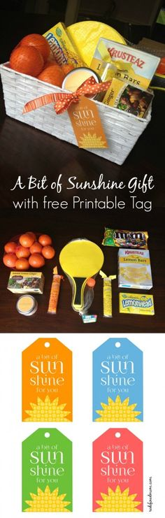 Have a friend who needs a bit of sunshine in their life? This DIY A Bit of Sunshine Gift with FREE Printable Tags is the perfect way to brighten their day.