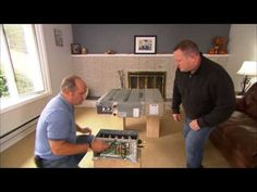 How to Install a Heat Pump for Heating & Cooling - YouTube