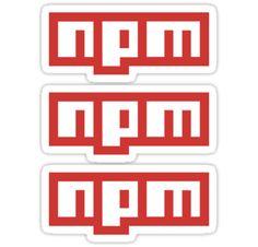 NPM ×3 by posx ★ $1.49 stickers
