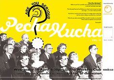 PechaKucha Night in Melbourne Vol. 19 is just around the corner, set for this coming Wednesday (April 18) at The Workers Club. You'll find the list of presenters on the official event page, and here's more info from organizer Michelle Emma James: