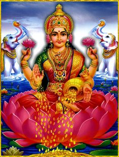 Lakshmi is also called Sri or Thirumagal because she is endowed with six auspicious and divine qualities, or gunas, and is the divine strength of Vishnu Sai Baba Pictures, God Pictures, Happy Navratri Images, Lakshmi Images, Krishna Images, Navratri Wishes, Lord Shiva Family, Lord Vishnu Wallpapers, Divine Mother
