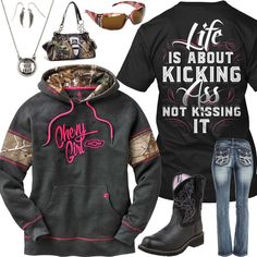 Life Is About Kicking Outfit - Real Country Ladies