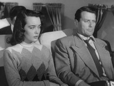 Joan Dixon and Charles McGraw in the low-budget ROADBLOCK.