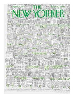 The New Yorker Cover - April 21, 1973 Raymond Davidson