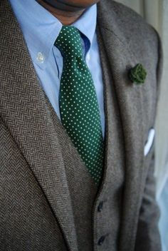 Dots & chevrons, perfect combo for this Winter.
