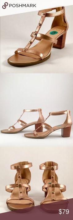 4dcc314d74 🌟NEW🌟 Jack Rogers Rose Gold NWOT Jack Rogers Julia block heel sandal in  rose
