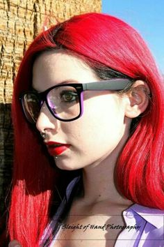 Model: Lyrica Black Title: Hipster Ariel Photo By: Sleight of Hand Photography