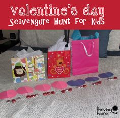 Valentine's day scavenger hunt for kids. Fun tradition I want to start!