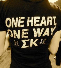 I want this but to say KAPPA SIGMA either way this shirt is adorable!