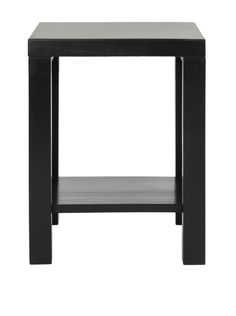 Safavieh Lahoma End Table, Black Simple yet versatile design made from pine wood features open bottom shelf TableHome #Furniture