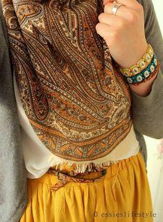 Beautiful colors #fashion #style #hijab