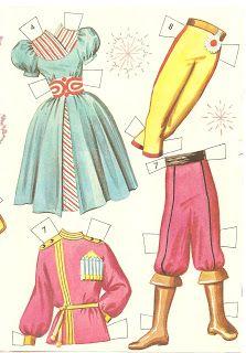 Miss Missy Paper Dolls: ballet The Nutcracker Ballet cutouts by Whitman Publishing company 1960