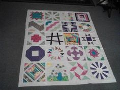 - completed quilt top  craftsy.com  This a tutorial for a block each month for 20 months. So informative and easy to follow
