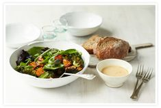 // Miso Sweet Potato + Broccoli Bowl